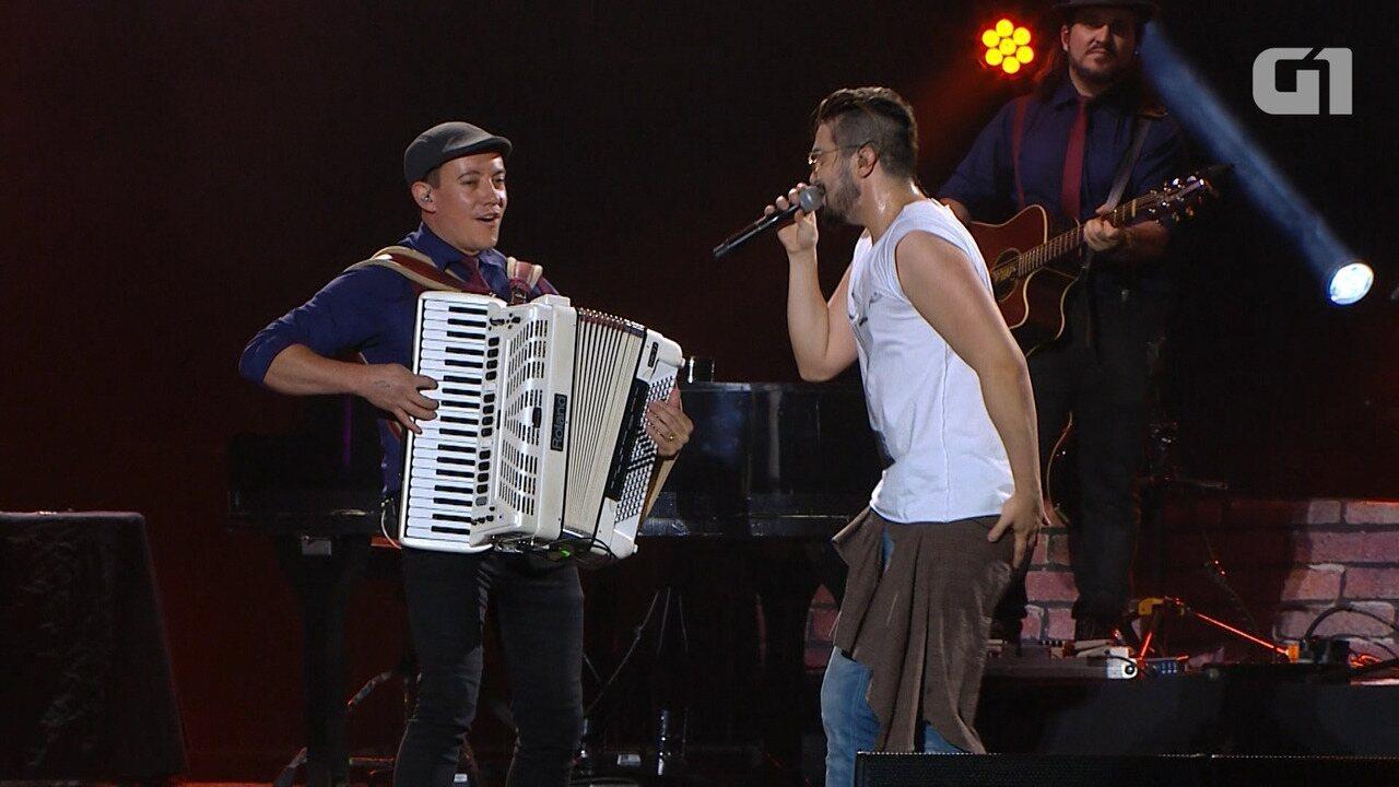 Festival de Verão: Luan Santana canta 'Estaca Zero' na Arena Fonte Nova