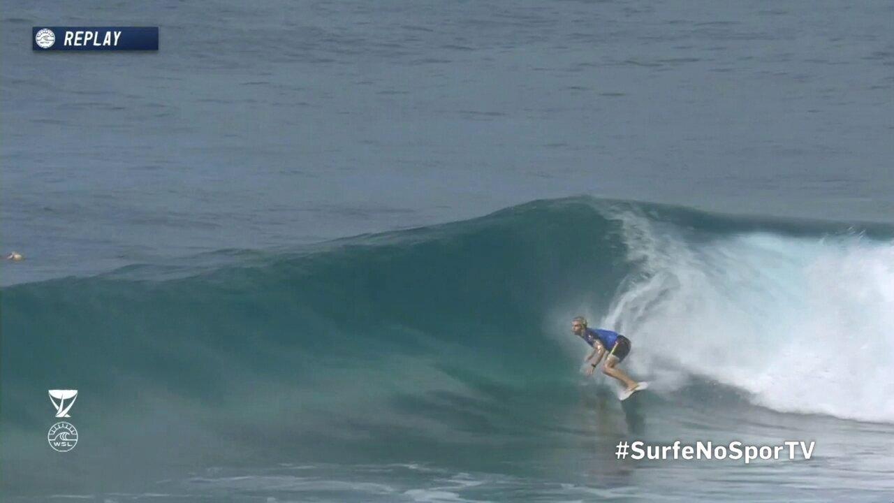 John John Florence é bicampeão mundial de surfe