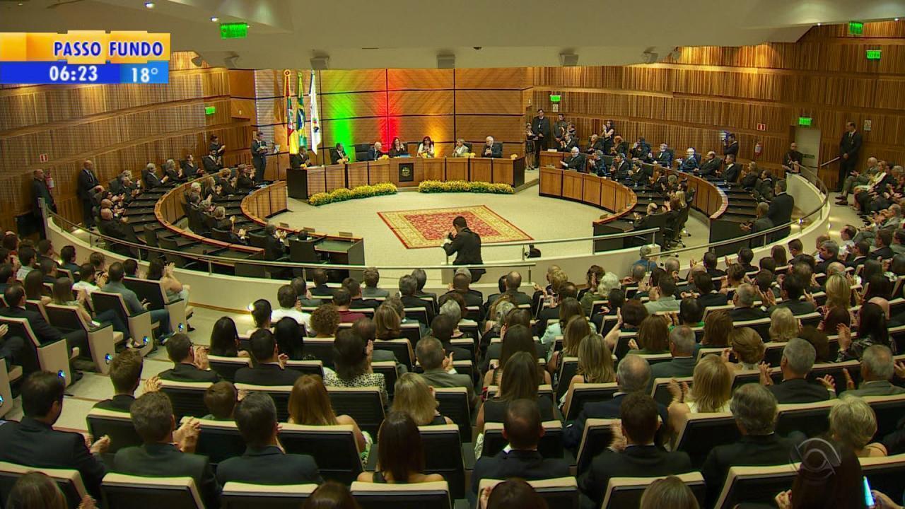 Nova administração do Tribunal Regional do Trabalho (TRT) do RS assume gestão