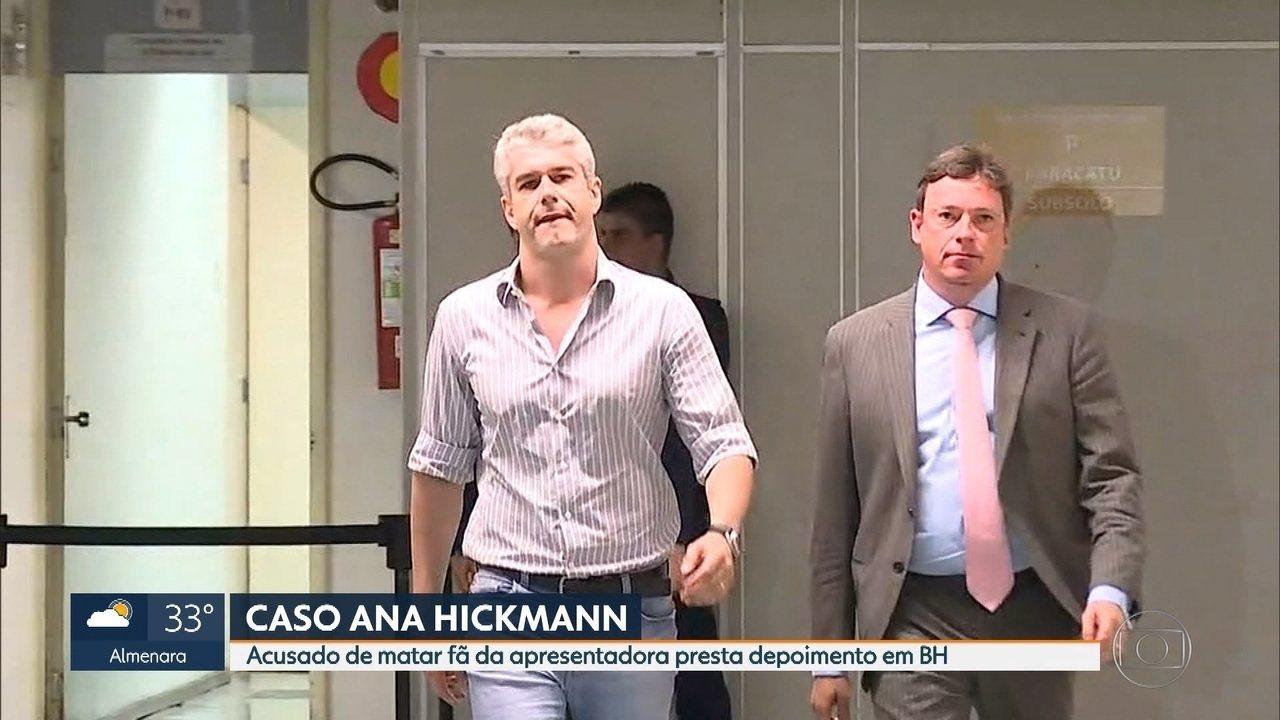 c4f591eb126e7 Acusado de matar fã de Ana Hickmann presta depoimento em Belo Horizonte