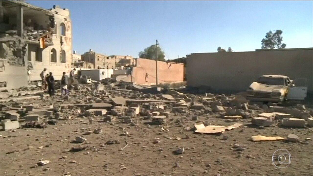 Rebeldes do Iémen lançam míssil contra a Arábia Saudita