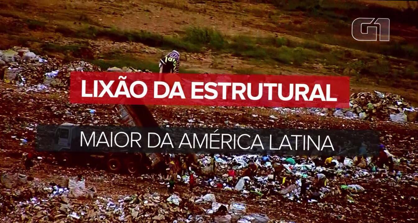 Lixão da Estrutural: um retrato do maior depósito de lixo da América Latina
