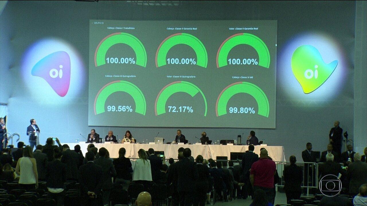 Credores da Oi aprovam plano de recuperação judicial