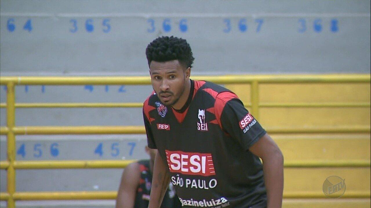 Leandrinho treina com o Franca Basquete no Pedrocão; estreia deve ocorrer em janeiro