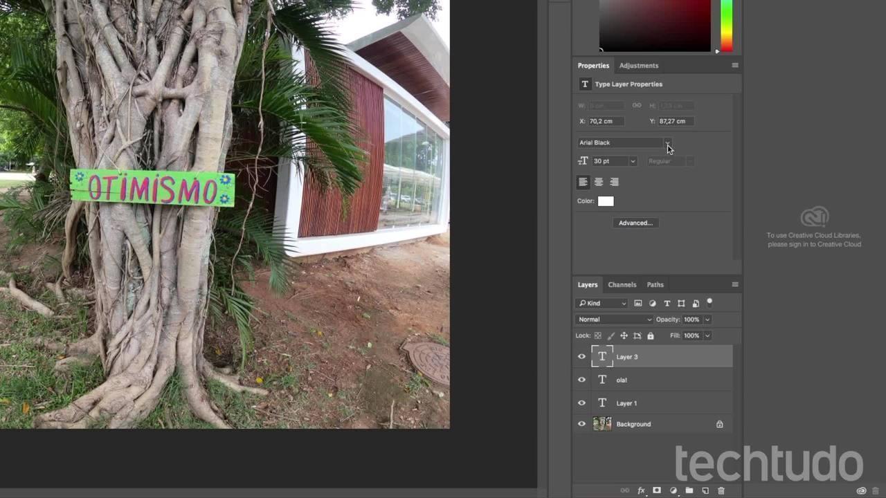 Vídeo mostra como instalar uma nova fonte no Photoshop