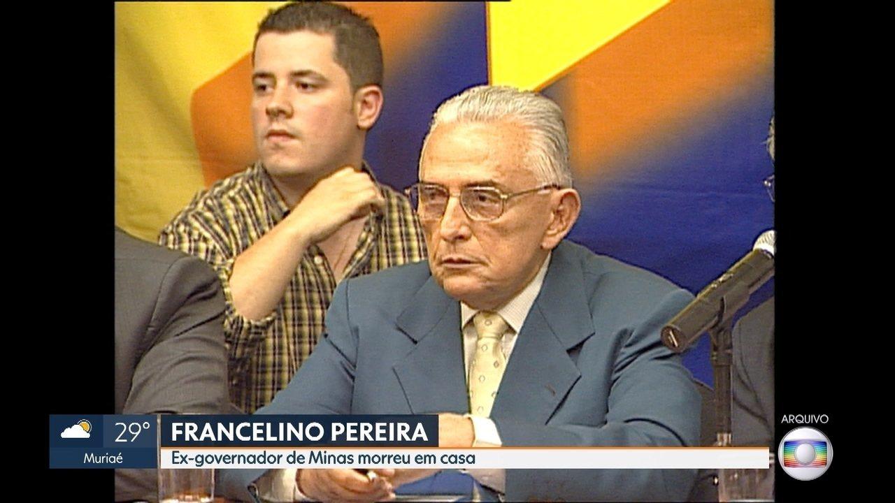 Ex-governador de Minas Gerais Francelino Pereira morre