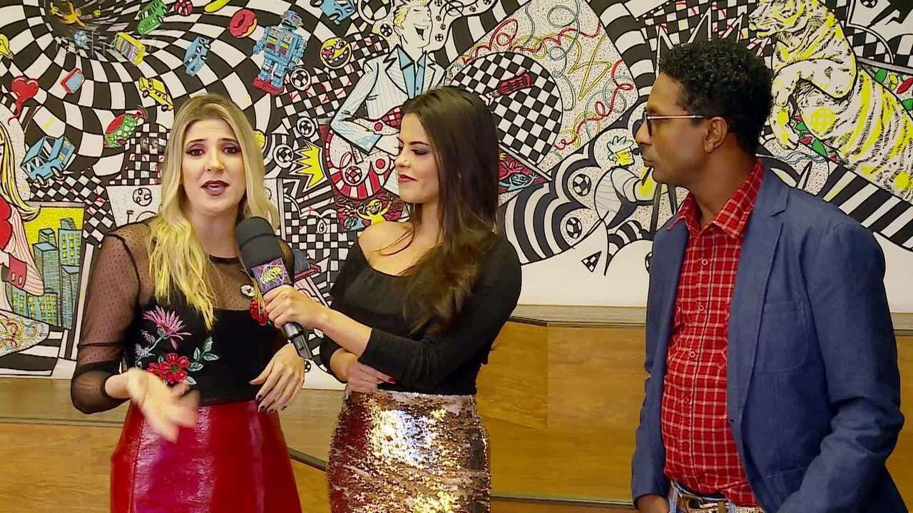 Dani Calabresa e Luís Miranda fazem prévia do Divã