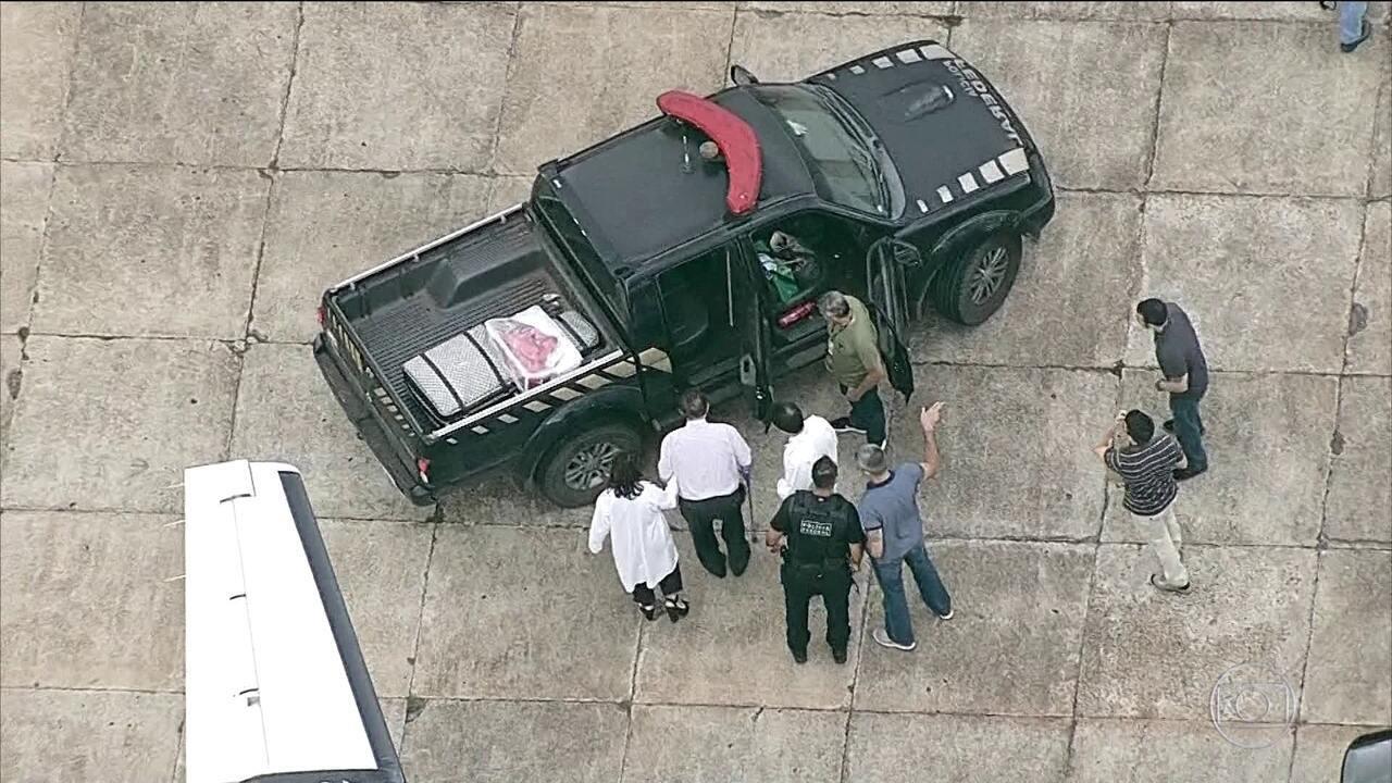 Paulo Maluf é levado de SP para a penitenciária da Papuda, em Brasília