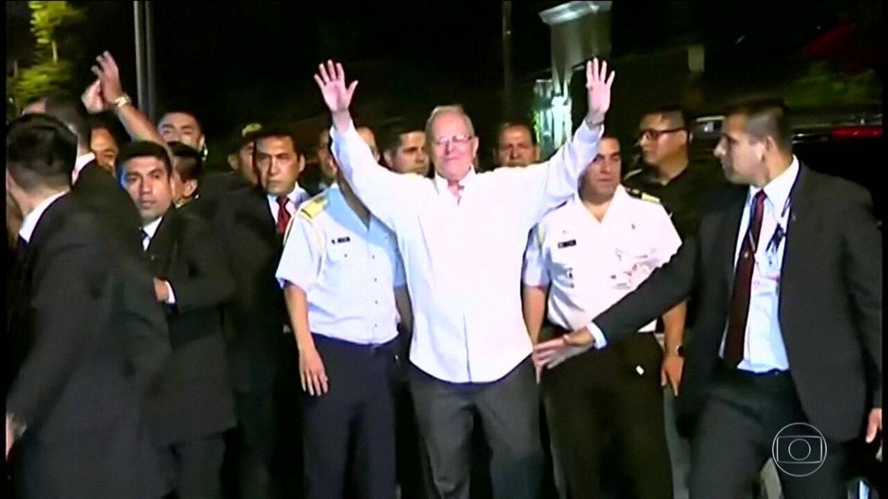 Congresso peruano rejeita impeachment do presidente Kuczynski