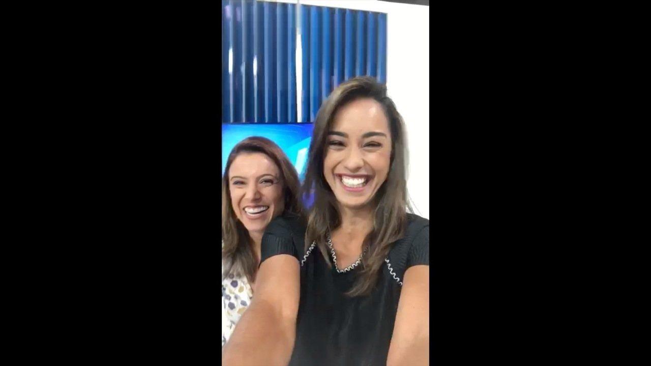 Ana Paula Mendes e Fernanda Soares desejam boas festas em nome da equipe de reportagem