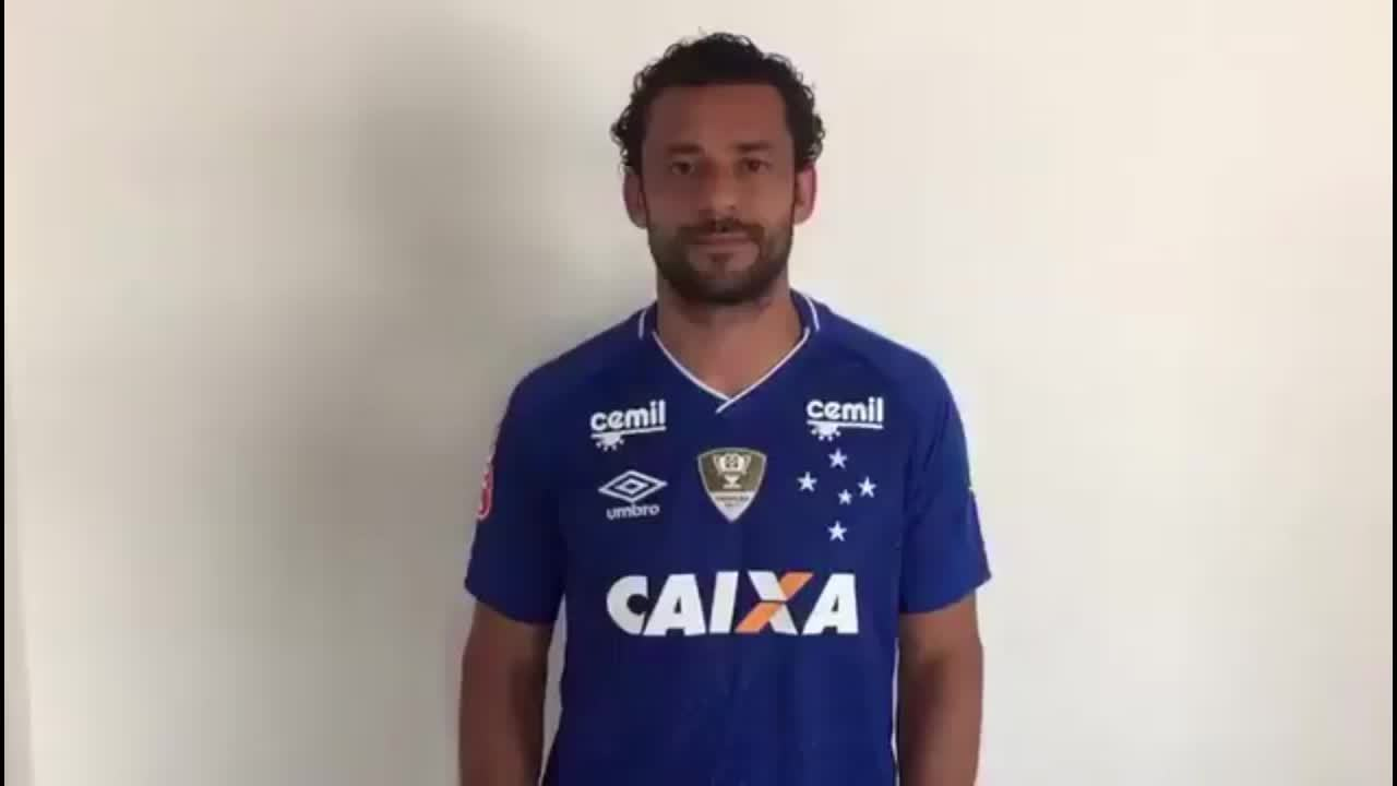 Fred fala do retorno ao Cruzeiro: