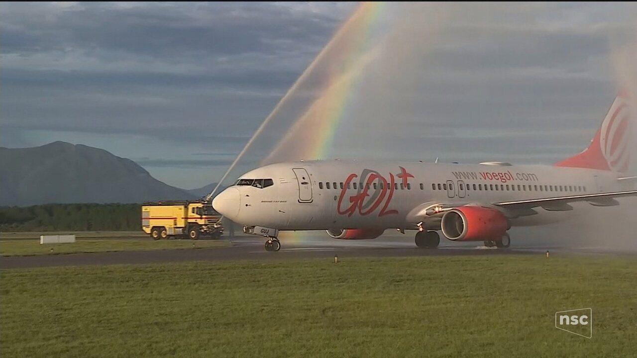 Empresa assume operação do Aeroporto Hercílio Luz em Florianópolis