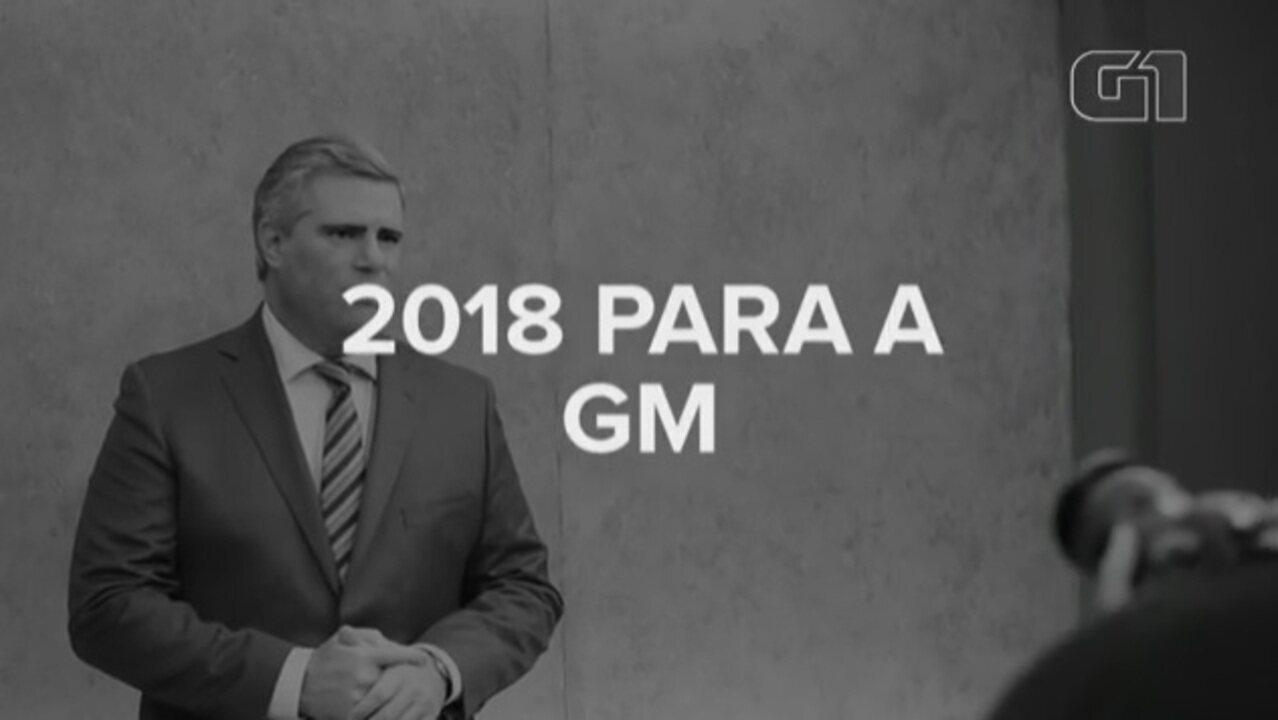 Presidente da GM diz como tentará manter liderança em 2018