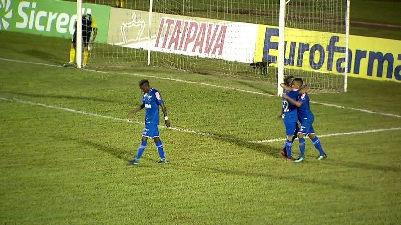 Os gols de Cruzeiro 2 x 1 Batatais pela 1ª rodada da Copa SP de futebol 9dd67ec5a80fd