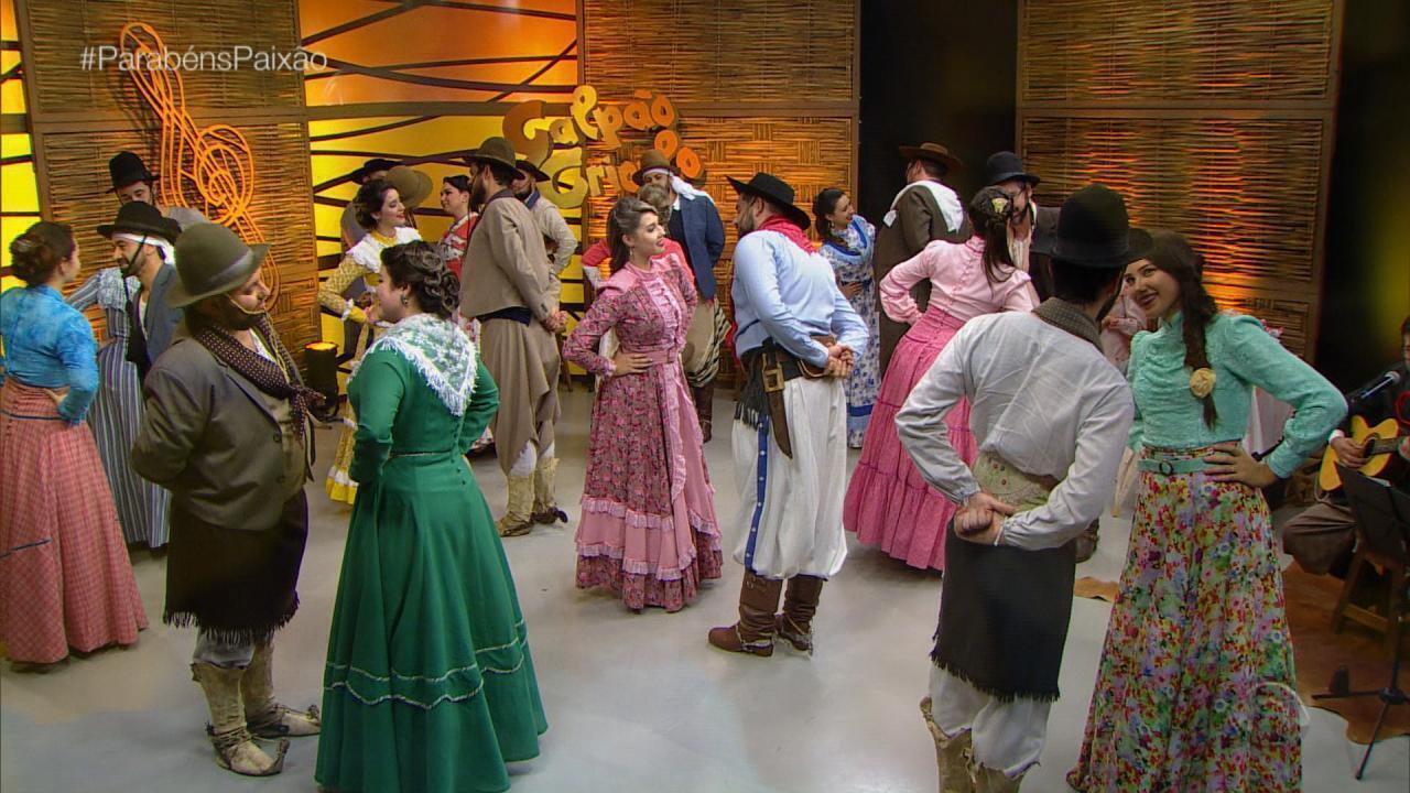 'Galpão' em homenagem a Paixão Côrtes recebe CTG Brazão do Rio Grande (bloco 2)