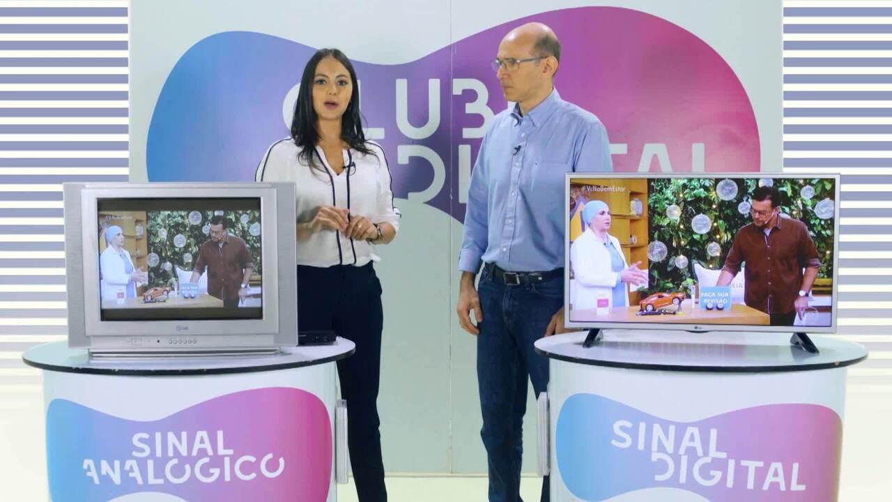 Saiba como instalar o conversor para receber o sinal digital na sua televisão