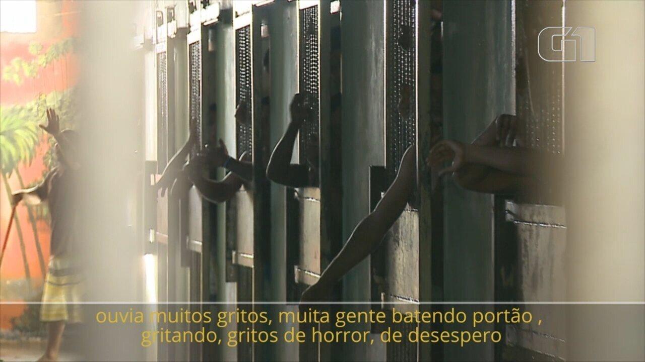 Ex-detento da penitenciária de Roraima relembra noite do massacre de 33 presos