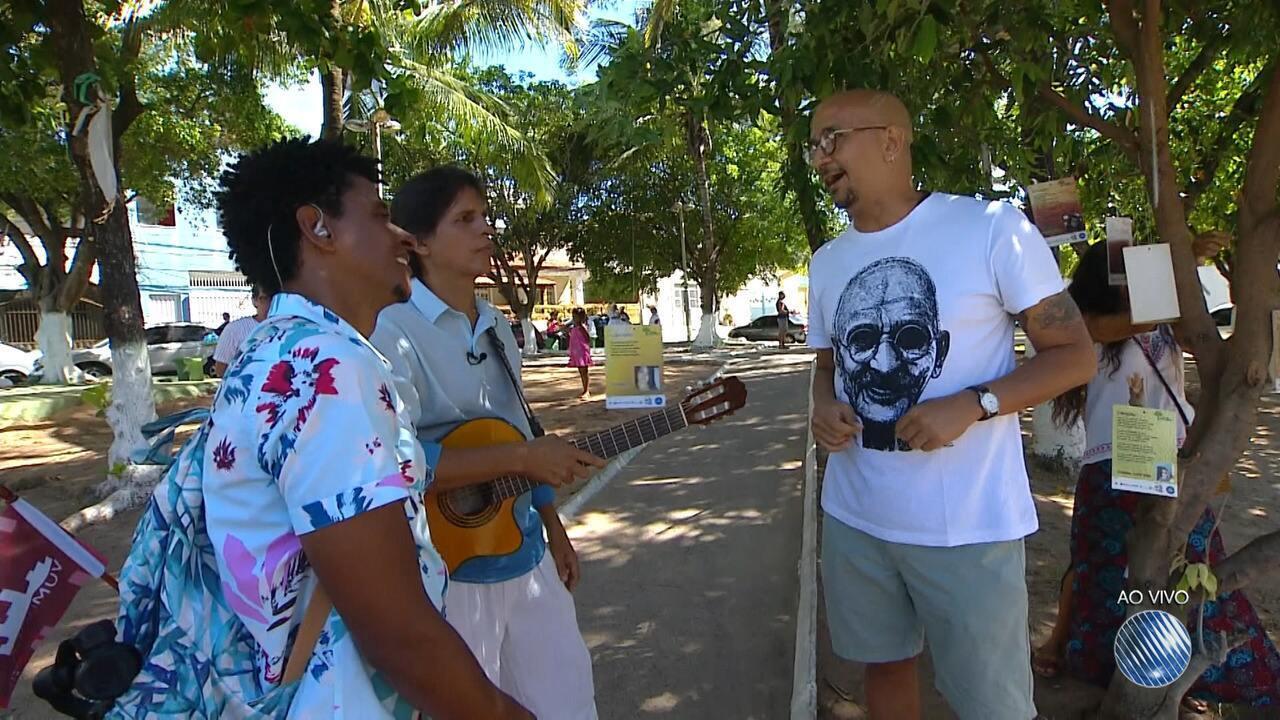 'Vumbora' ao vivo: conheça um projeto que leva poesia para as árvores