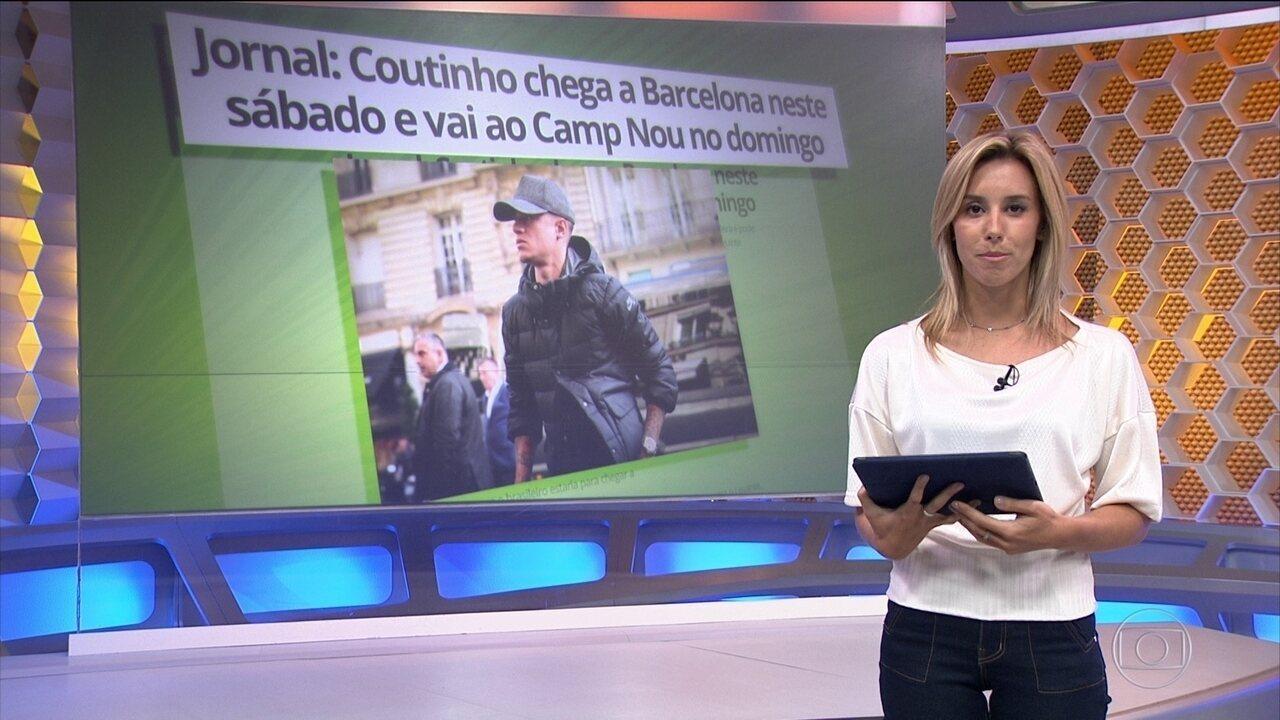 Barcelona contrata meia Philippe Coutinho para vaga de Neymar