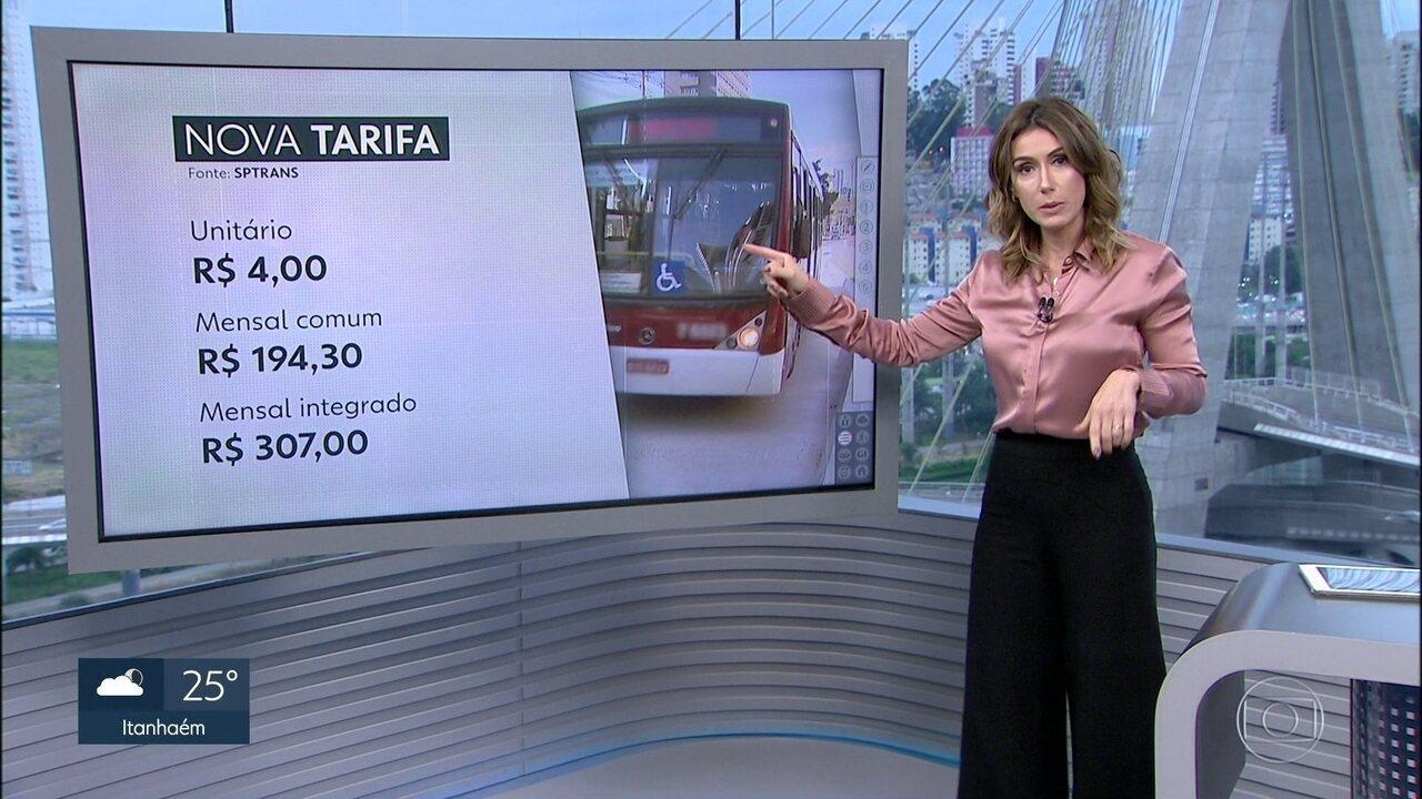 Transporte público na capital fica mais caro a partir deste domingo (07)
