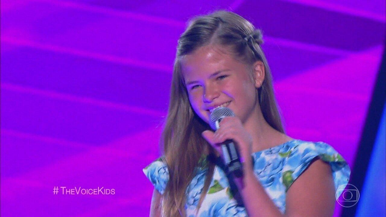 Fabiana Monero canta 'Will I See You' nas audições às cegas