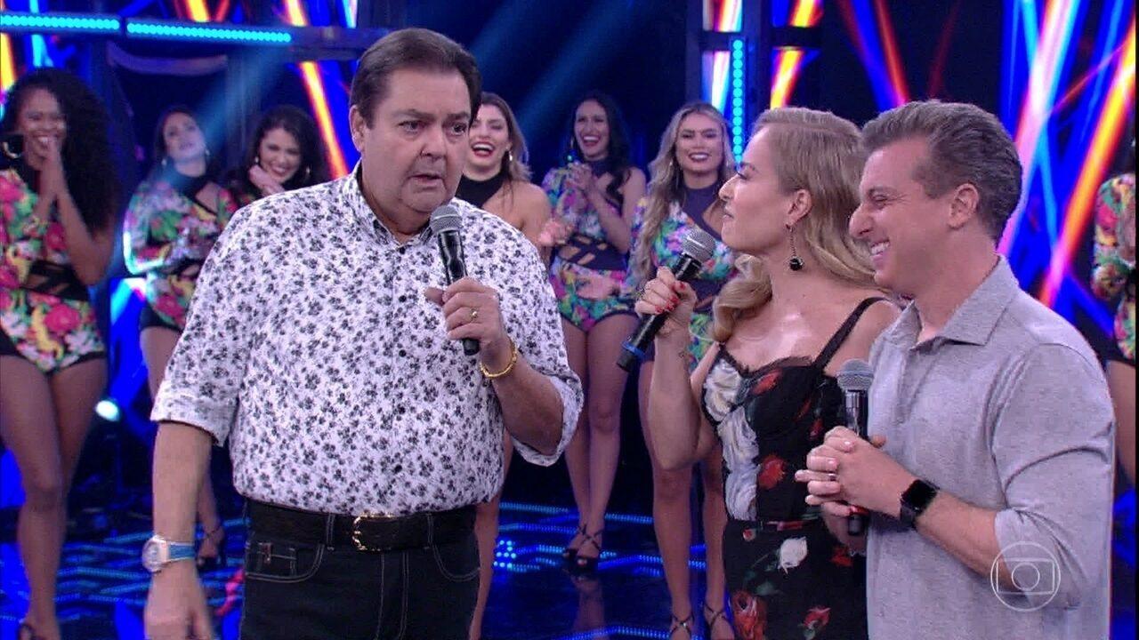 Bolsonaro alfineta Huck por discurso no Faustão: