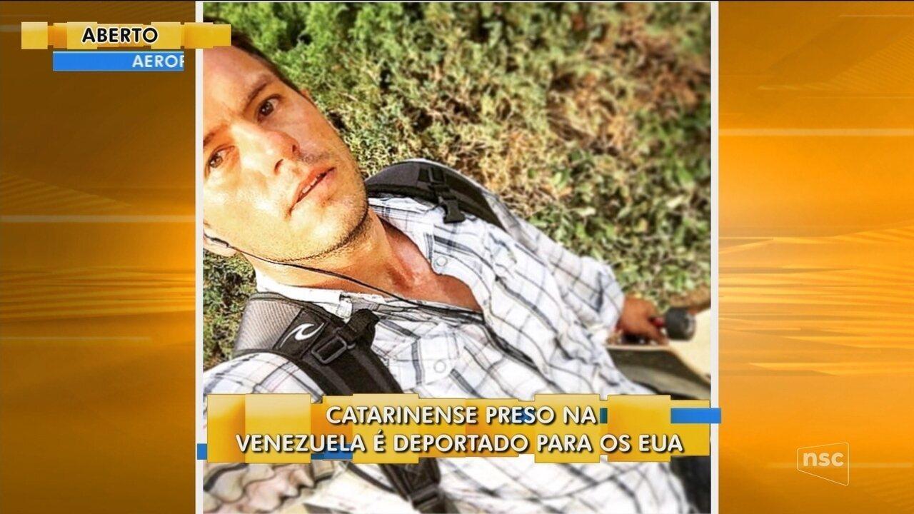 Brasileiro preso na Venezuela é expulso do país