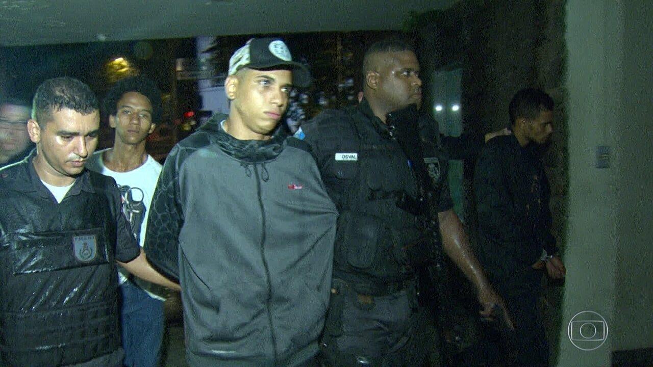 Criminosos que tentavam tomar comunidade no Leblon são presos