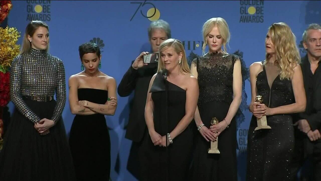Premiação do Globo de Ouro é marcada por protestos contra assédio sexual