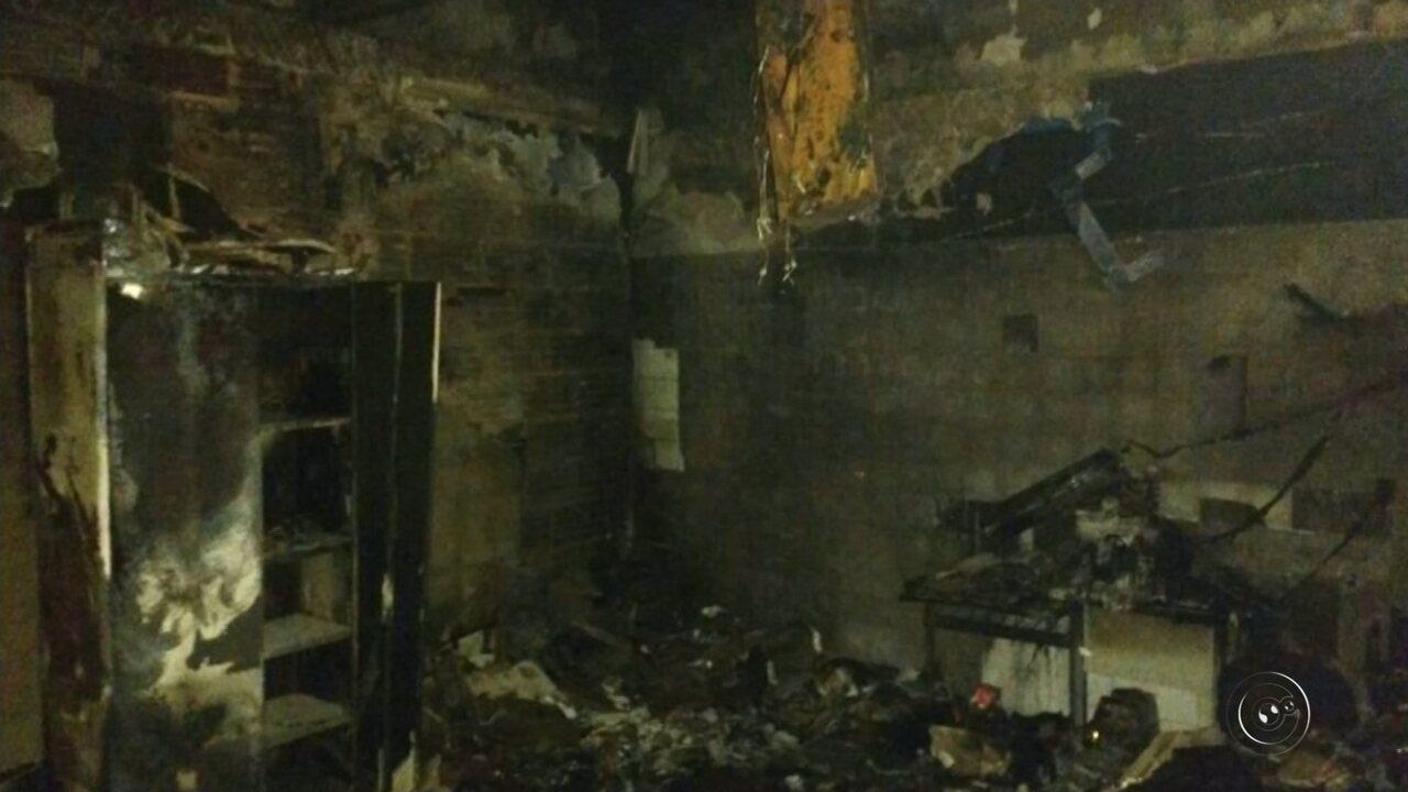 Incêndio na Secretaria de Saúde em Birigui deixa moradores sem atendimento