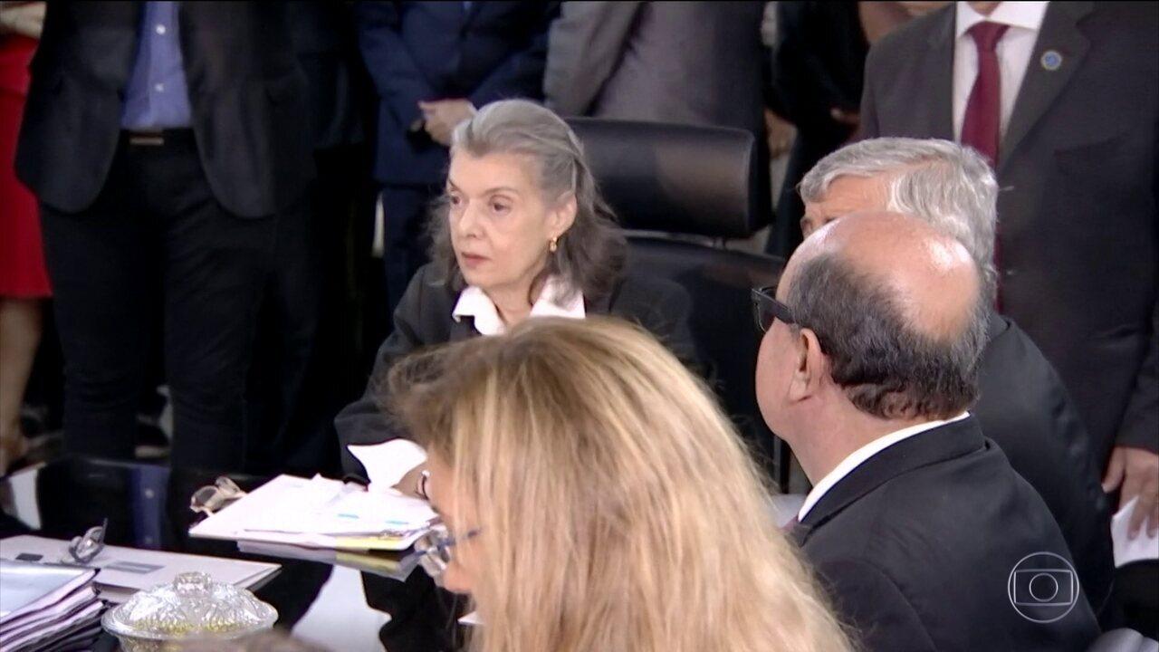 Ministra Cármen Lucia está em Goiânia para vistoriar Complexo Prisional