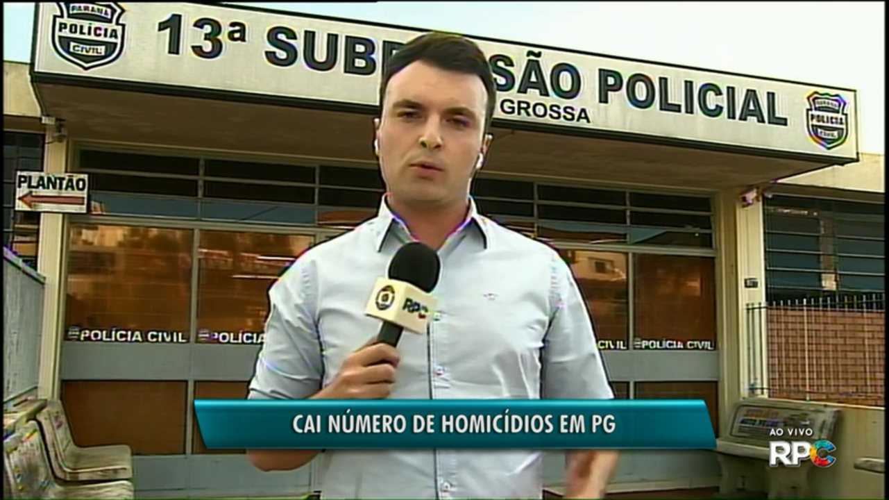 Número de homicídios em Ponta Grossa reduziu em 2017