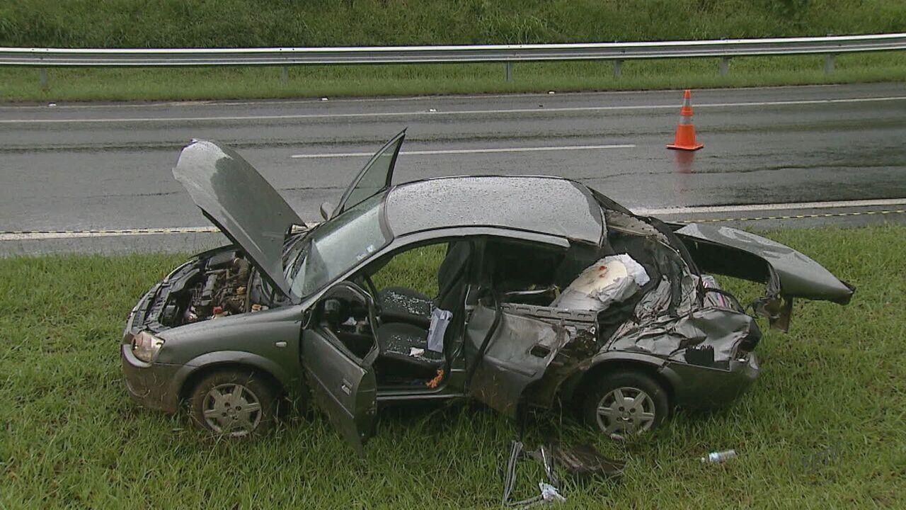 Adolescente de 13 anos morre em acidente na Rodovia Washington Luís em Itirapina