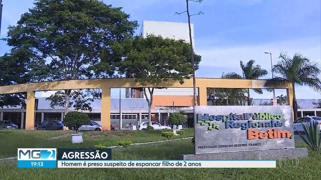 Homem é preso por suspeita de espancar filho de 2 anos em Esmeraldas