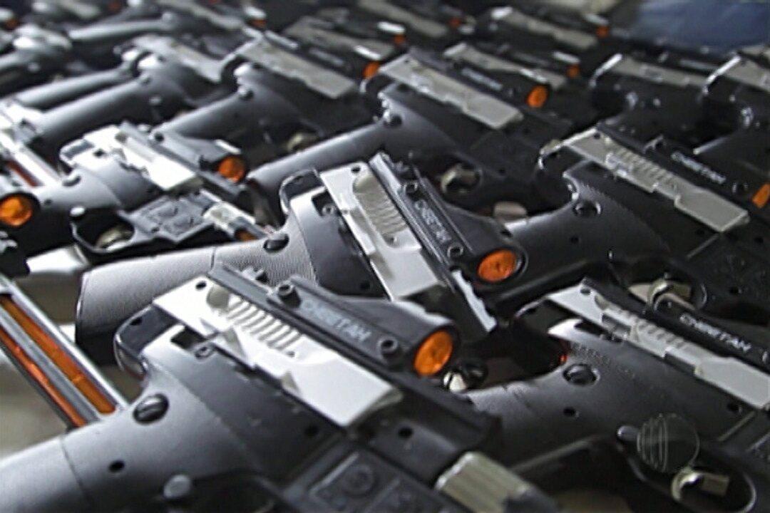 Guarda Civil de Suzano apreende 150 réplicas de armas de fogo
