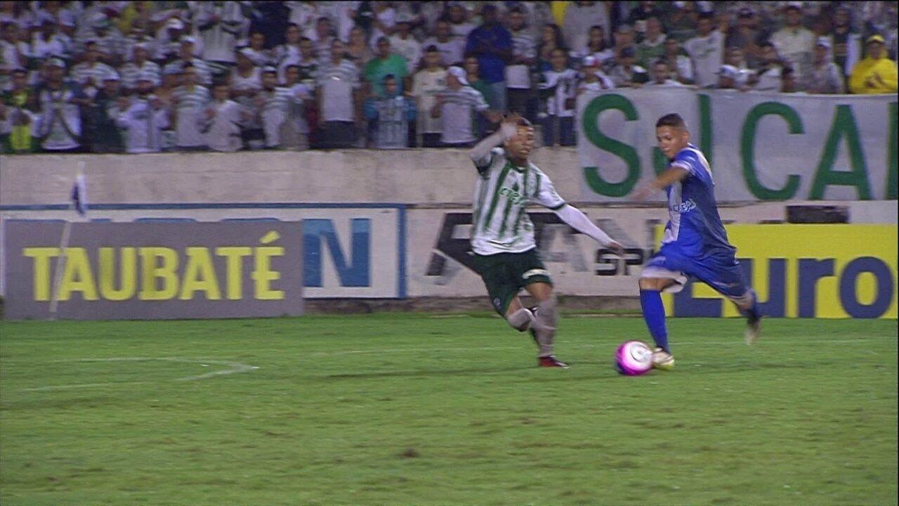 Melhores momentos  Taubaté 1 x 1 Palmeiras pela 3ª rodada da Copa São Paulo  de fce0cc97049