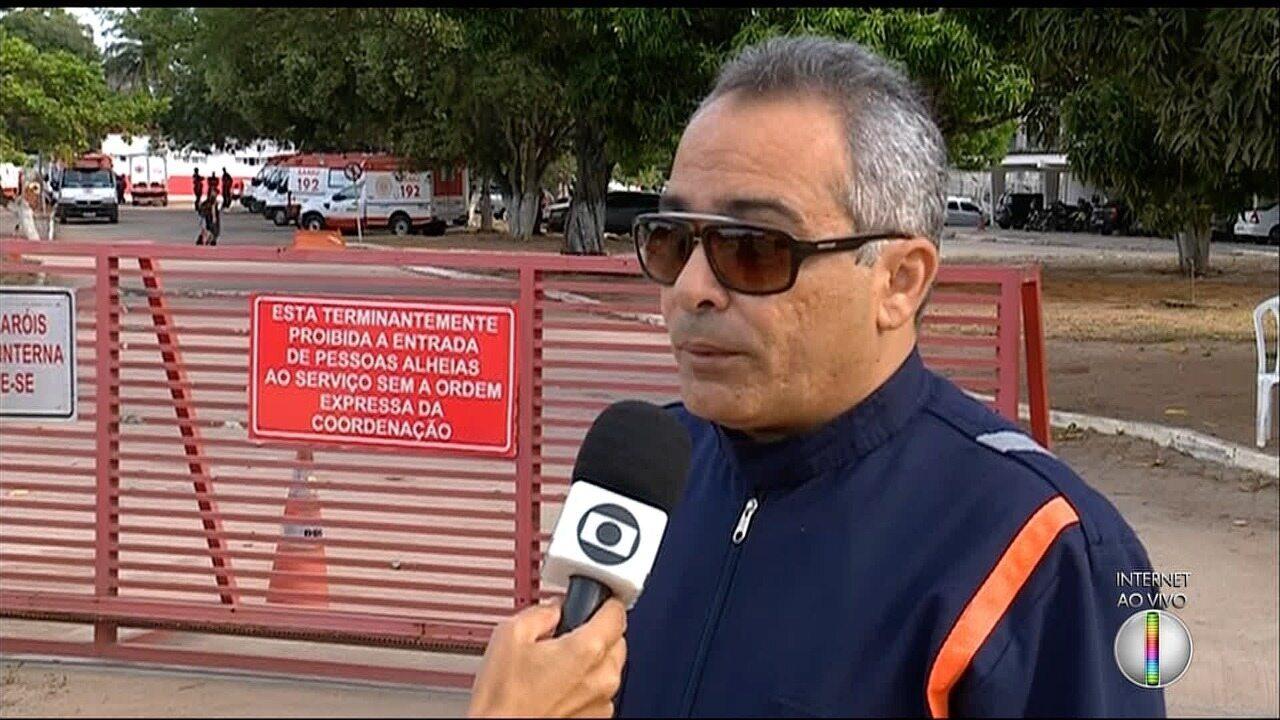Em protesto, Samu Metropolitano terá número de ambulâncias reduzido nas ruas nesta terça