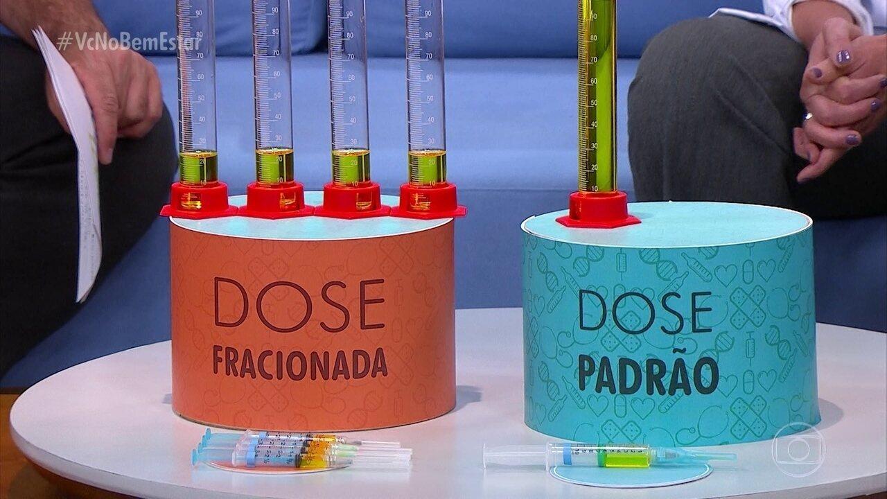 Dose fracionada deve imunizar quase 15 milhões de pessoas contra febre amarela