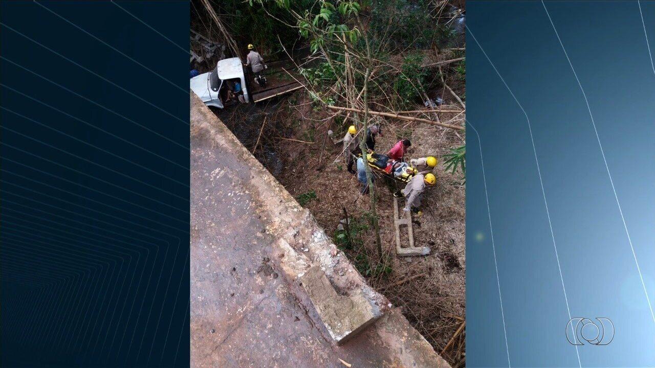 Garoto salva avô durante acidente em Mineiros