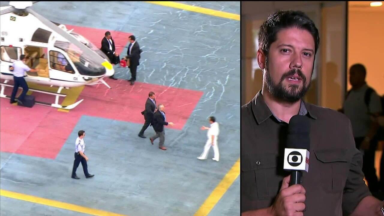 Michel Temer passa por consulta médica em São Paulo