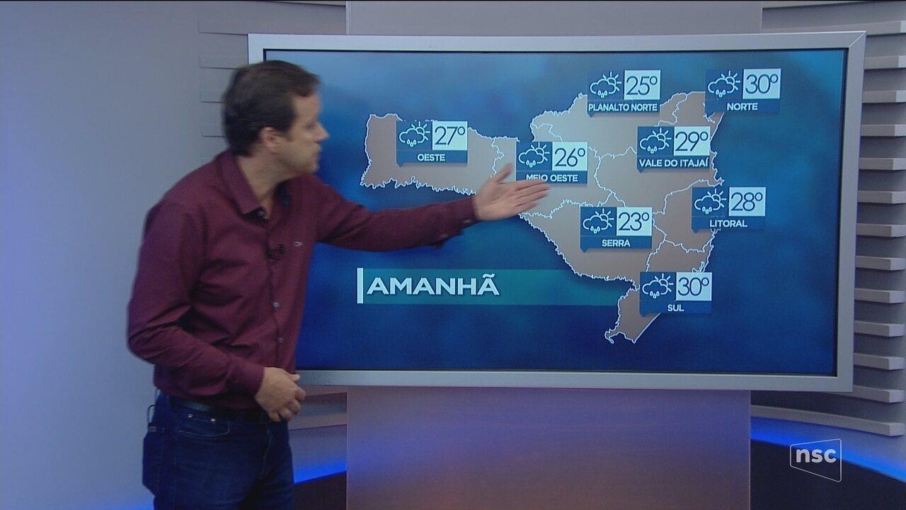 Meteorologia prevê leve melhora no tempo para esta sexta-feira (12); veja a previsão