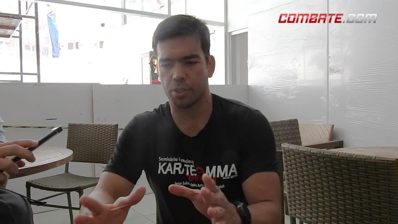 Lyoto Machida comenta luta contra Eryk Anders