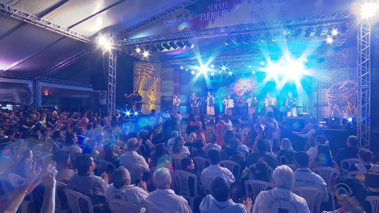Grupo Cordiona se apresenta no 'Galpão Crioulo' especial em Canoas (bloco 1)