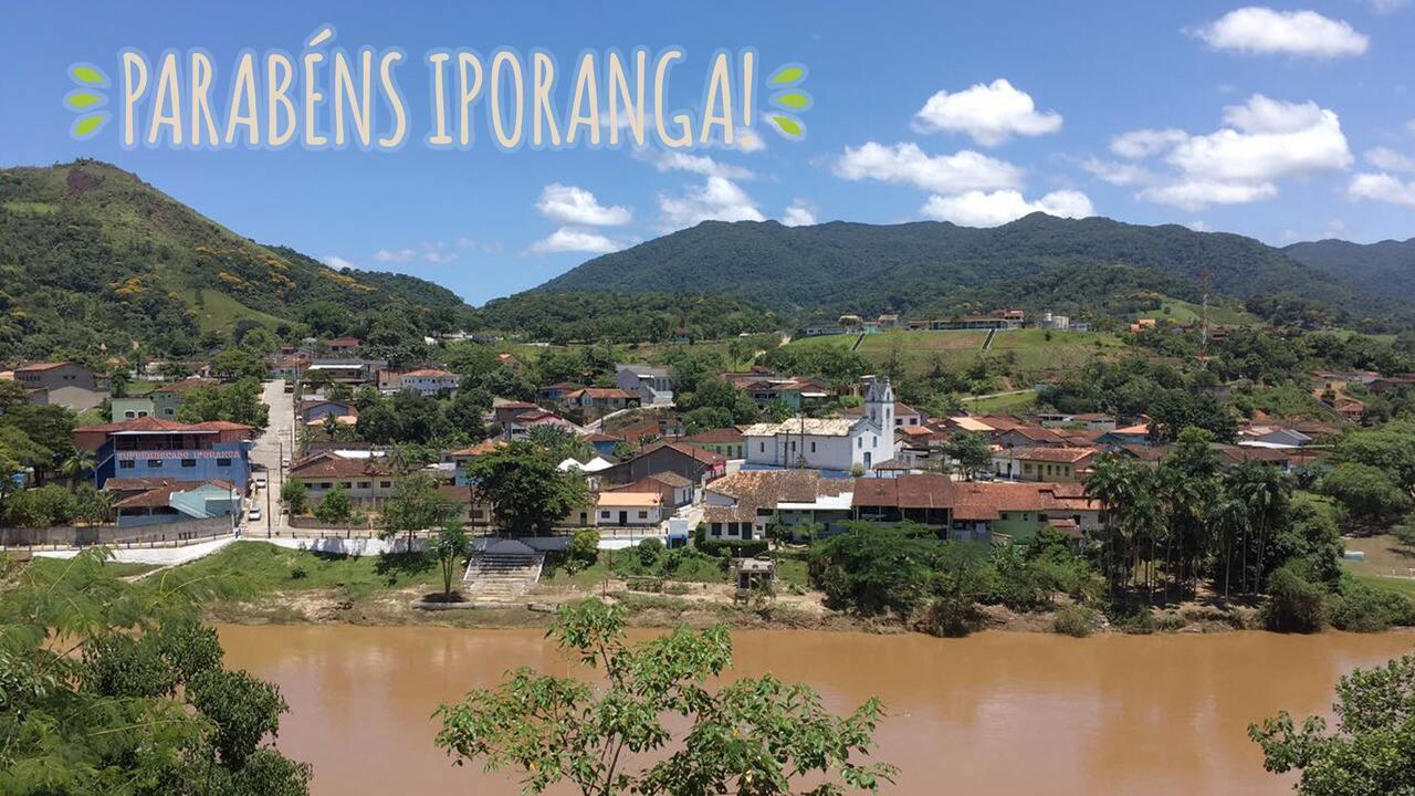 Parabéns, Iporanga! Confira acima o recado de Rosana Valle para a cidade.