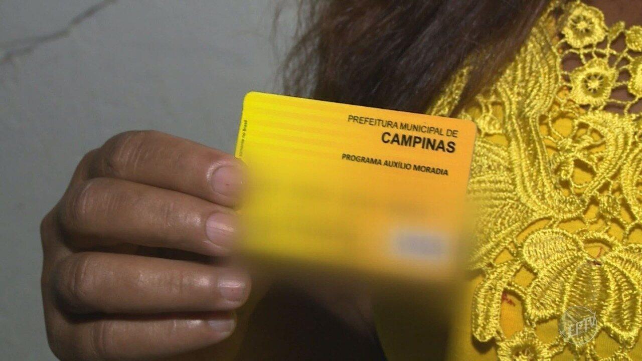 Cresce o número de famílias que recebem auxílio moradia em Campinas (SP)