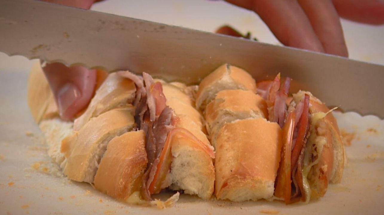 Sanduíches que são aperitivos