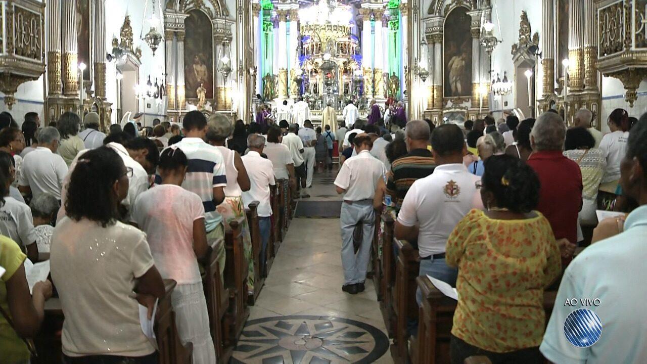 Após lavagem, Igreja do Bonfim é reaberta para novenário em louvor ao santo