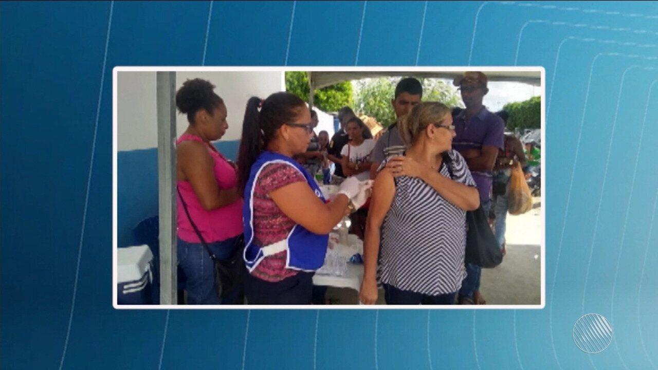 Itaberaba tem vacina contra a febre amarela reforçada após confirmação de caso da doença