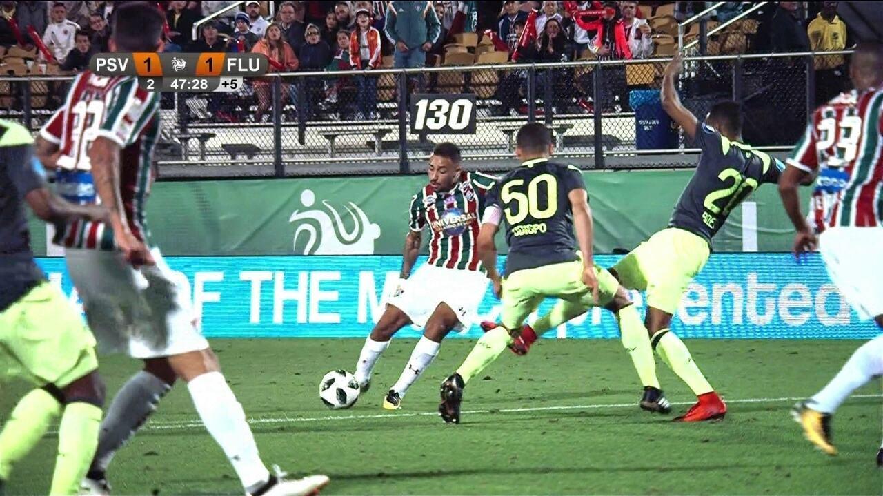 Melhores momentos de PSV 1 (5) X (4) 1 Fluminense pelo Torneio da Flórida