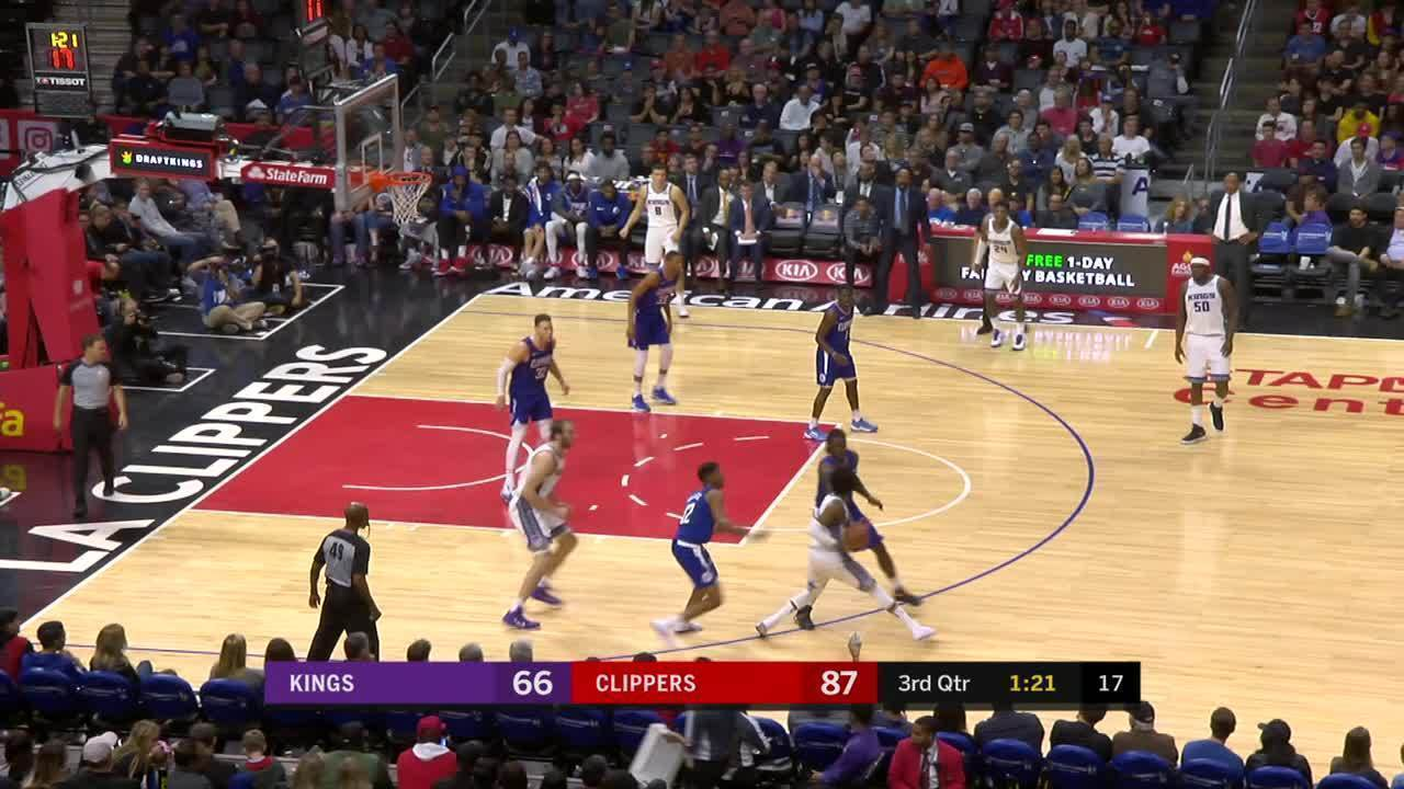 Melhores momentos de Sacramento Kings 105 x 126 Los Angeles Clippers pela NBA